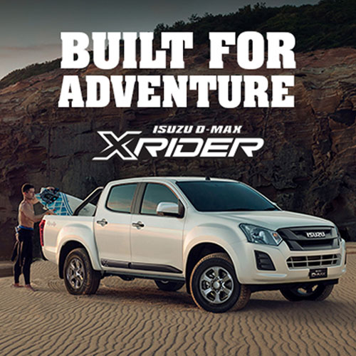 THE LIMITED EDITION ISUZU D-MAX X-RIDER