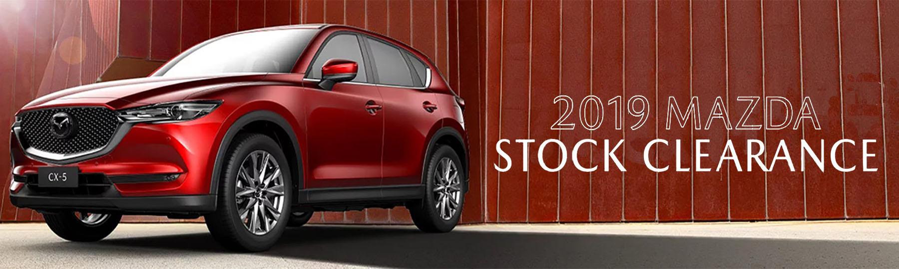 Mazda 2019 Stock Clearance