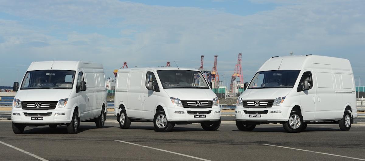LDV V80 Van Overview