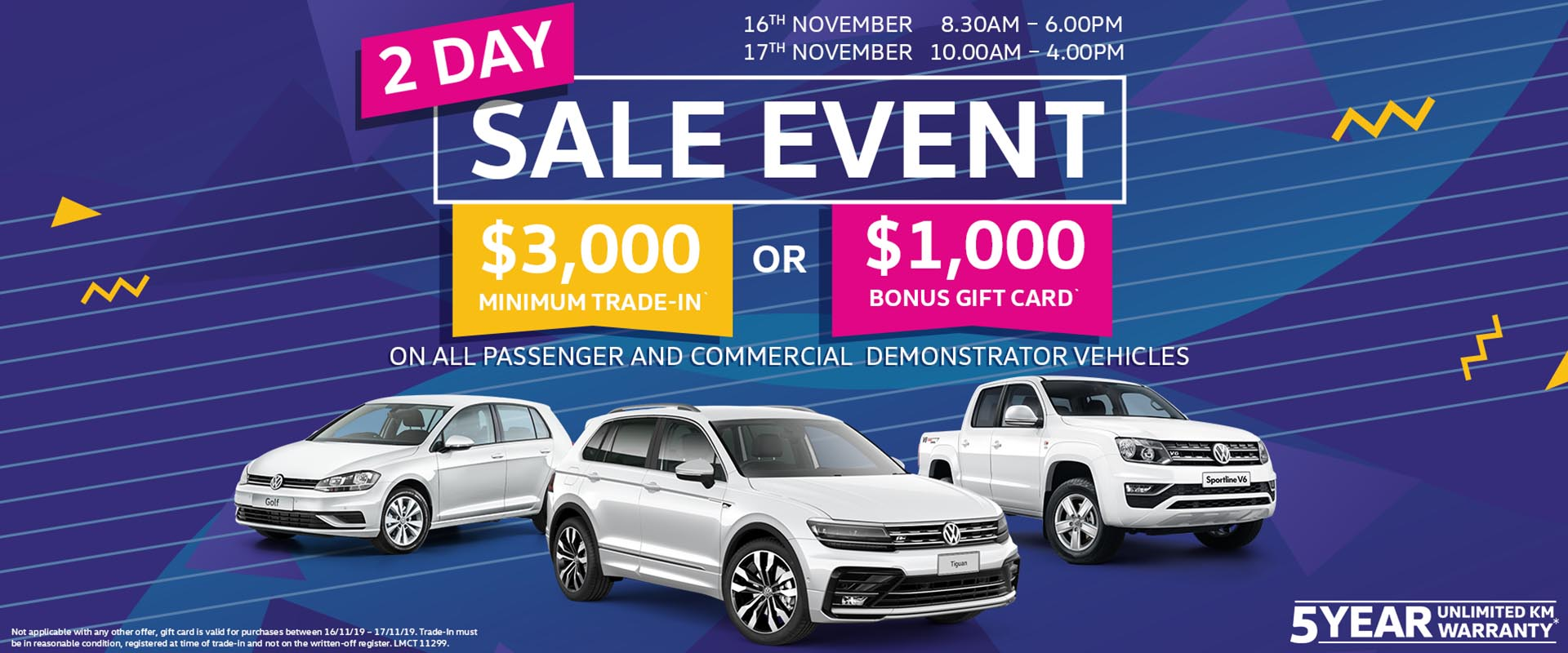 Ferntree Gully Volkswagen 2 Day Sale Event