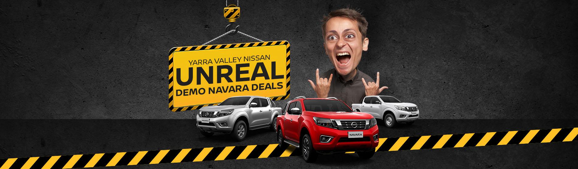 Yarra Valley Nissan - Unreal Demo Navara Deals