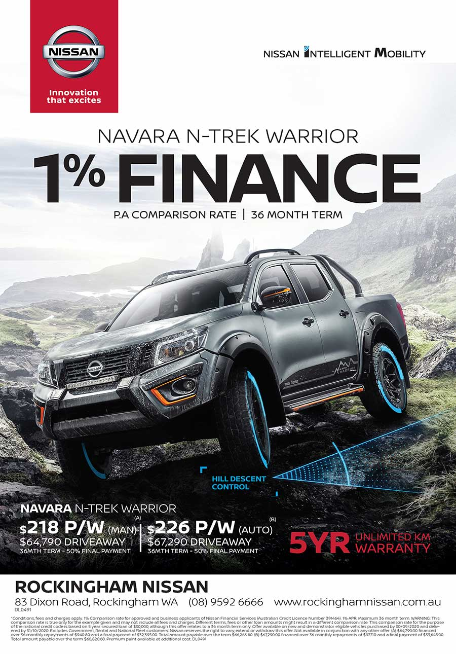 Nissan N-Trek Warrior Specials