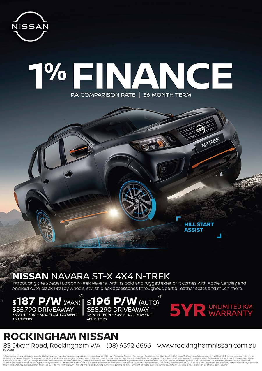 Nissan Navara N-Trek Offer