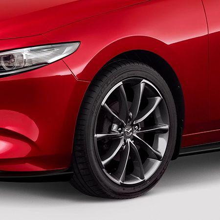 Mazda3 - 18 Inch Satin Chrome Alloy Wheels