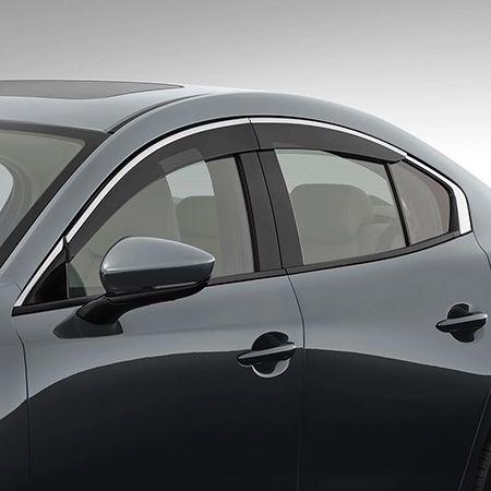 Mazda3 - Sedan - Slimline Weathershields