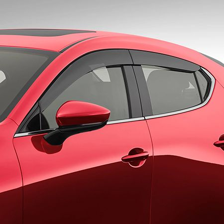Mazda3 - Hatch - Slimline Weathershields