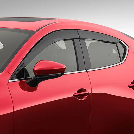 Mazda3 - Hatch - Slimline Weathershields