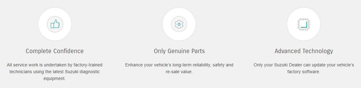 Suzuki Genuine Service