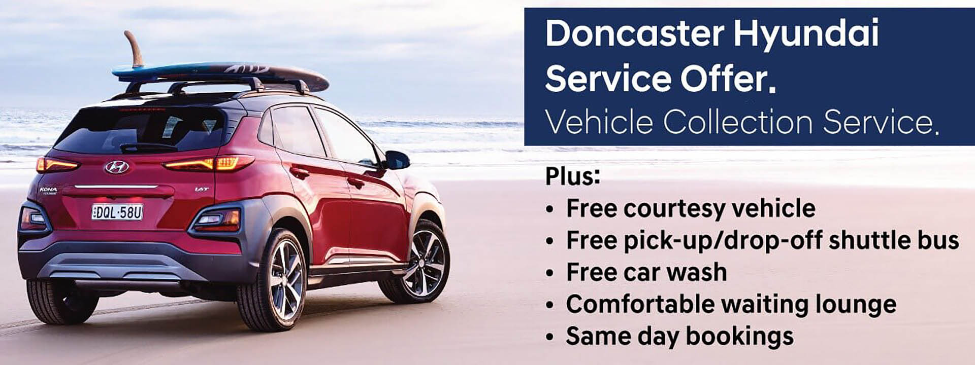 Doncaster Hyundai Service Offer
