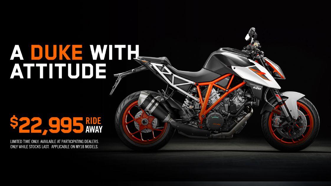 KTM - A Duke with Attitude