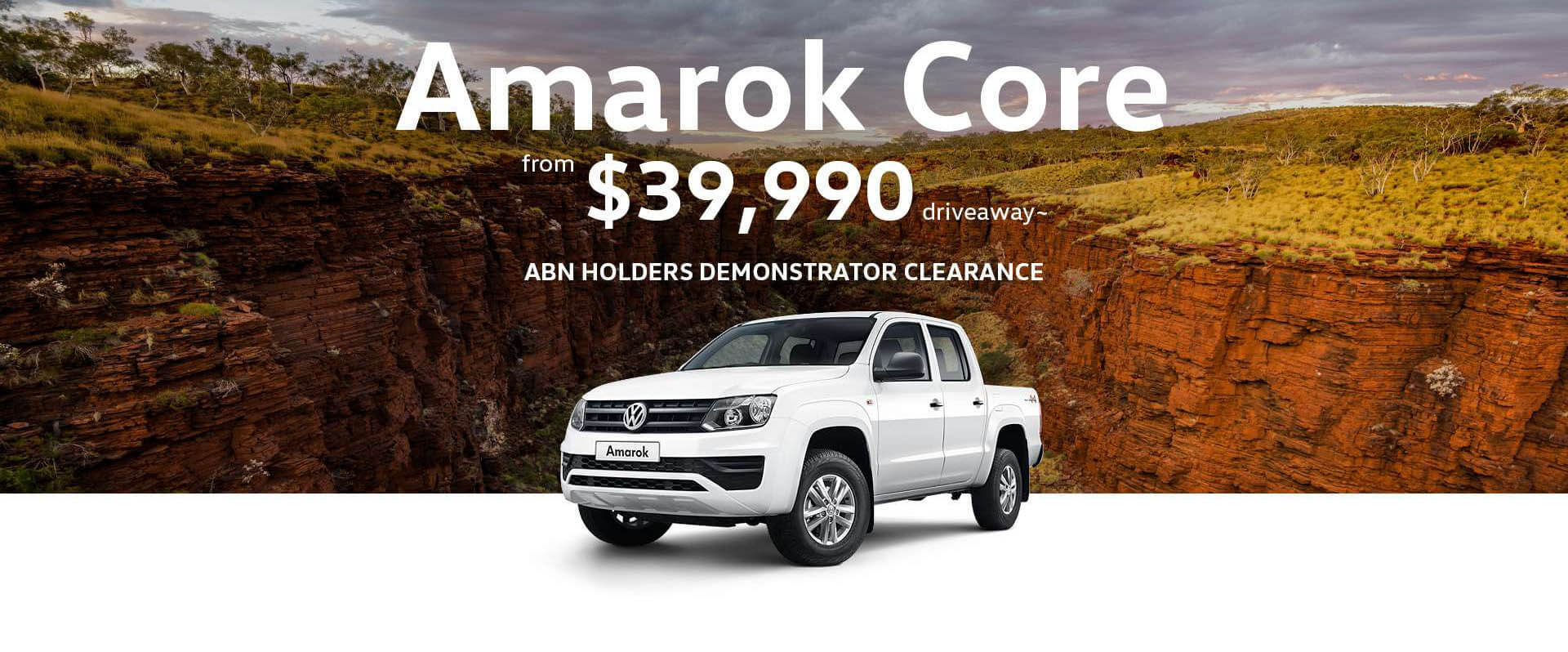 Volkswagen Amarok Core Special Offer