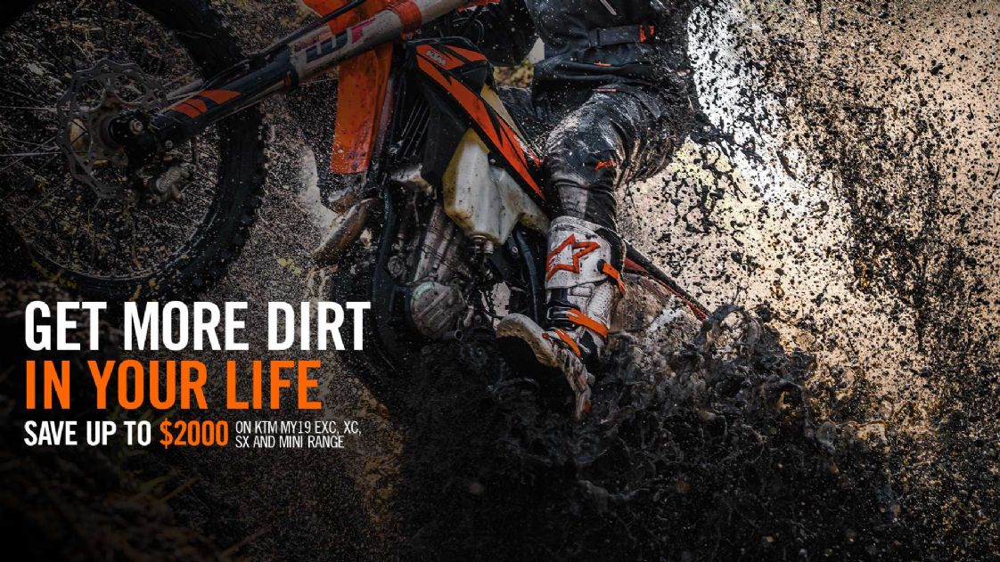 KTM - Get More Dirt In Your Life