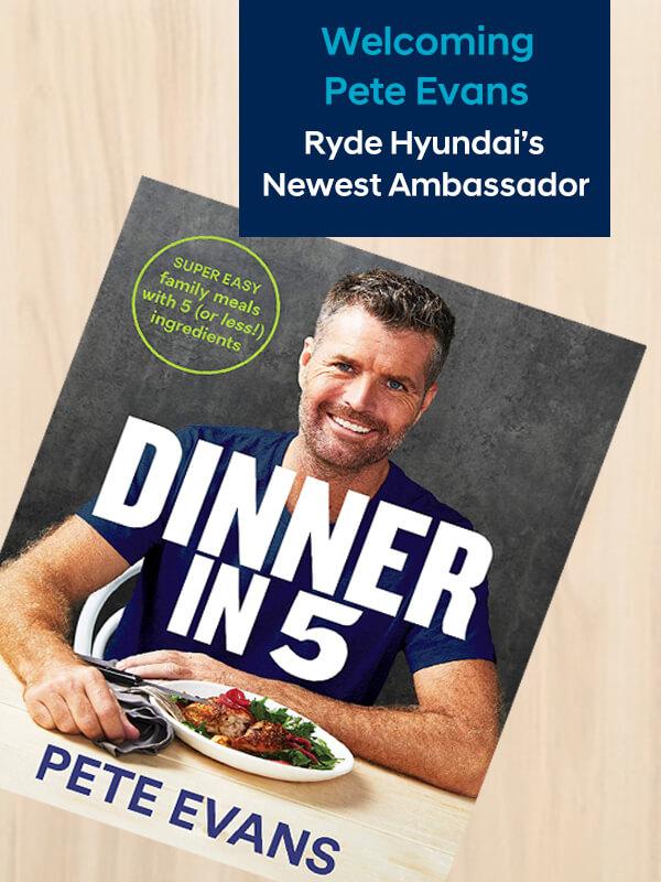 Pete Evans Ryde Hyundai Ambassador