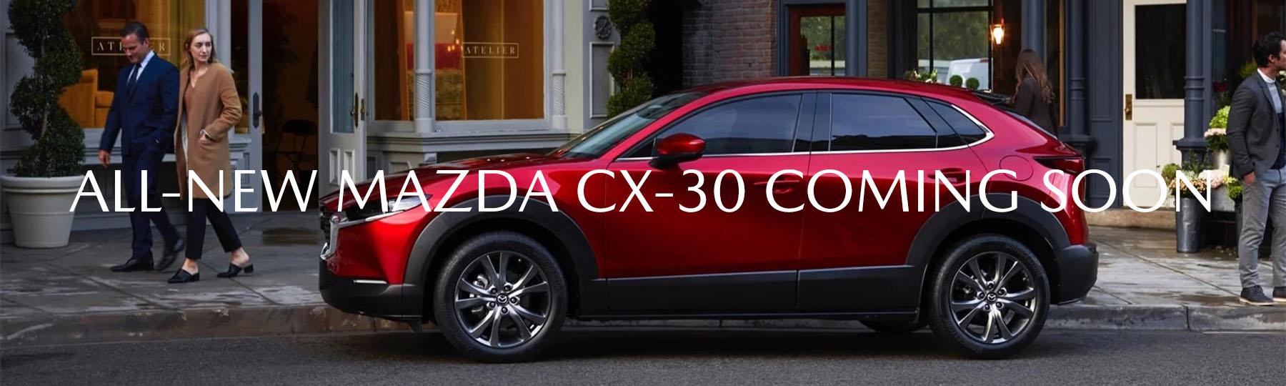 Mazda CX-30 Coming Soon