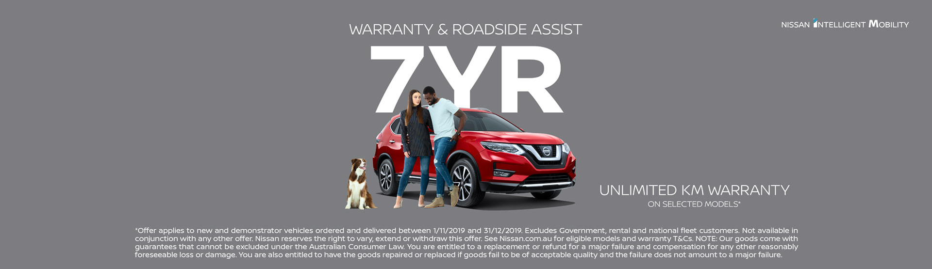Nissan 7 Year Warranty