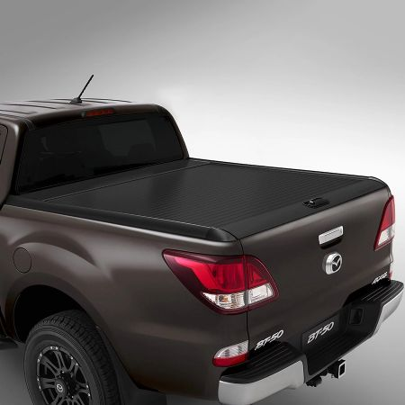 Mazda BT-50 Black Retractable Roller Tonneau Cover