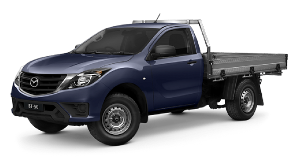 Mazda BT-50 Single Cab 4x4 XT With Tray