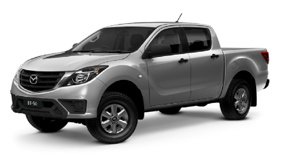 Mazda BT-50 Dual Cab 4x2 XT With Tray