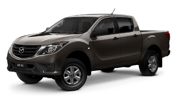 Mazda BT-50 Dual Cab 4x4 XT With Tray