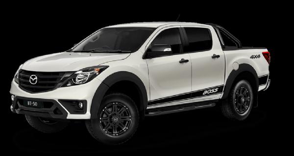 Mazda BT-50 Dual Cab 4x4 Utility Boss