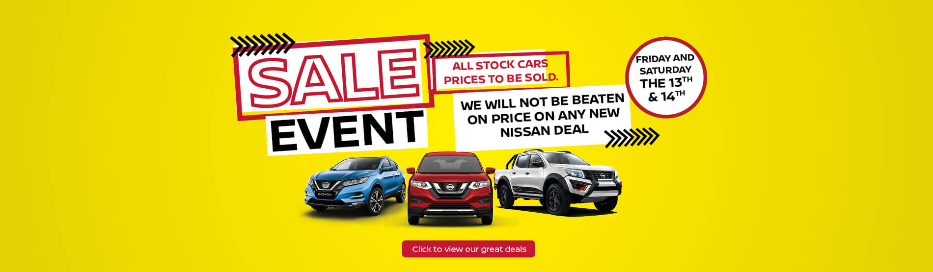 Ringwood Nissan Sale Event
