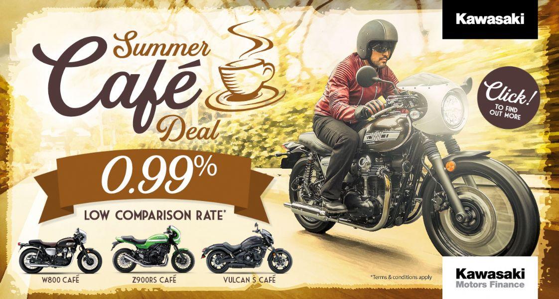 Kawasaki Summer Cafe Deal