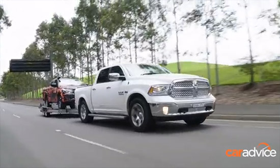 CarAdvice Talks Ram 1500 Pickup Truck |Eats Utes for Breakfast |V8 Hemi Power & Towing |Ram Trucks Australia