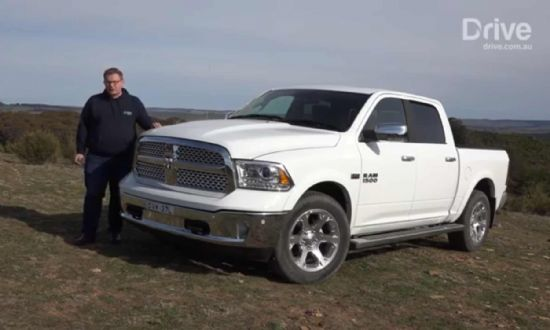 Drive talks Ram 1500 Pickup Truck |Eats Utes for Breakfast |V8 Hemi Power |Ram Trucks Australia