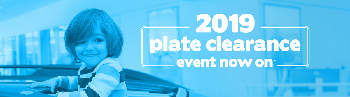 Subaru 2019 Plate Clearance On Now