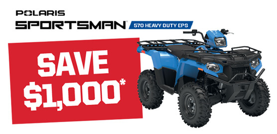 Polaris Sportsman 570 Heavy Duty EPS