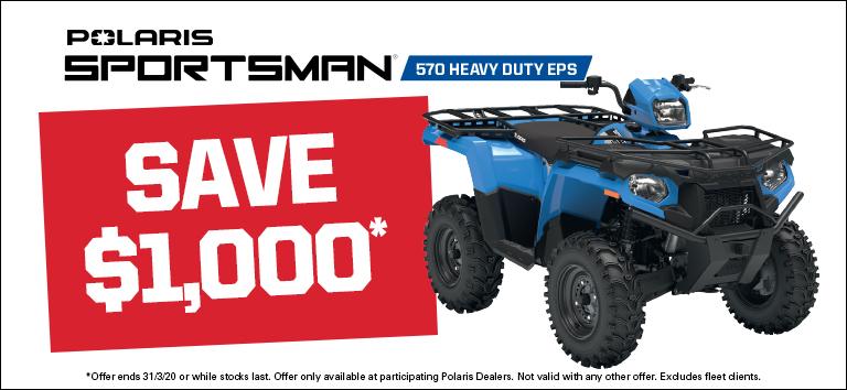 Polaris Sportsman 570 Heavy Duty EPS