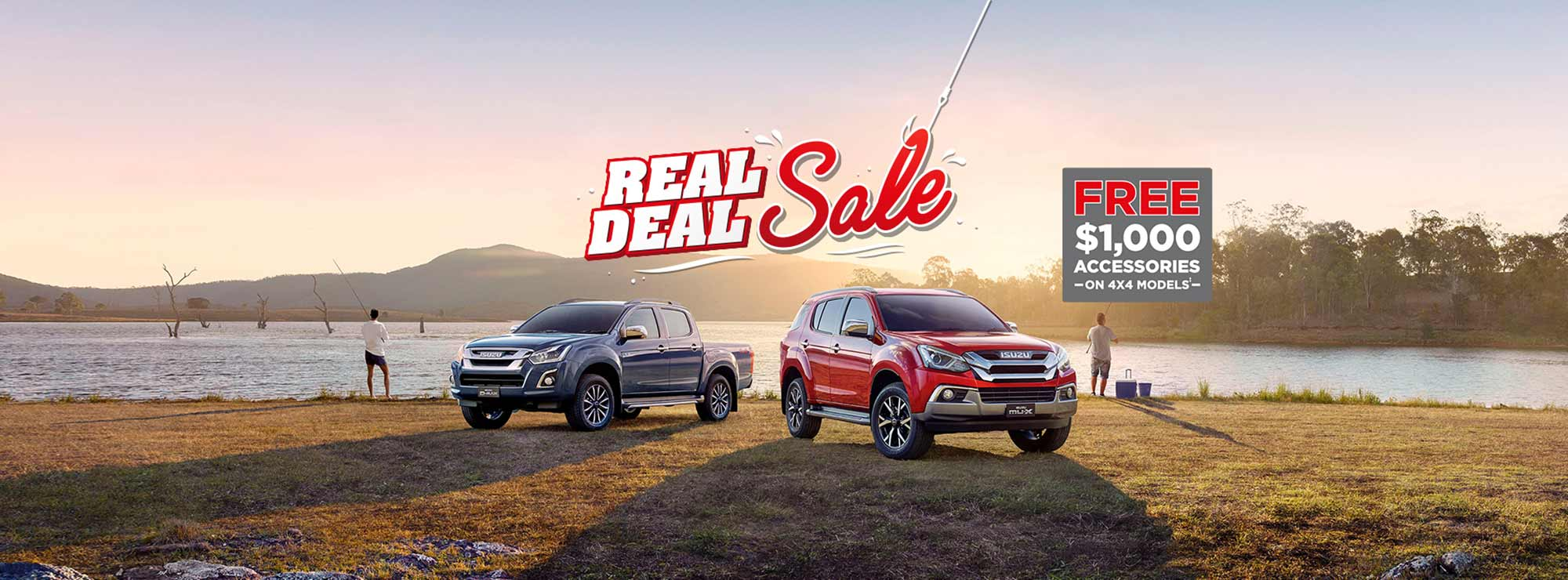 Isuzu UTE Real Deal Sale