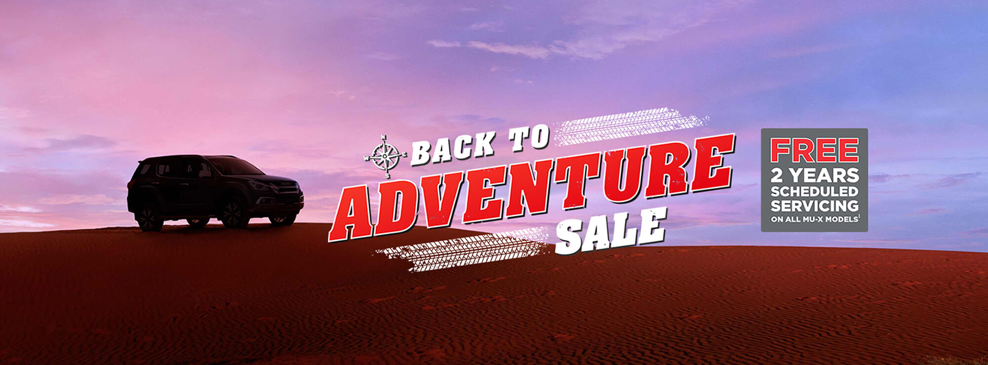 Isuzu UTE Back to Adventure Sale