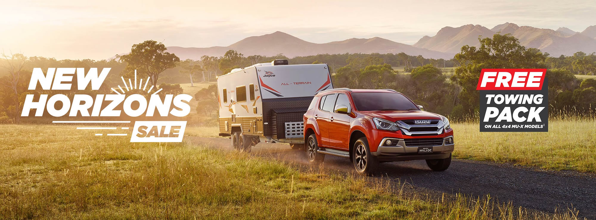 Isuzu UTE New Horizons Sale