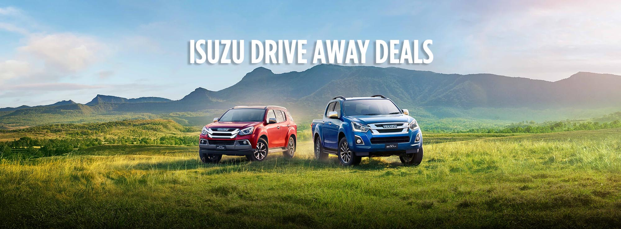 Isuzu UTE Drive Away Deals
