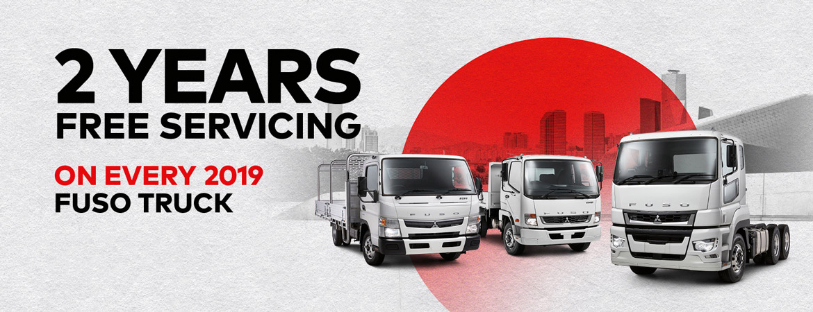 Fuso - 2 Years Free Servicing