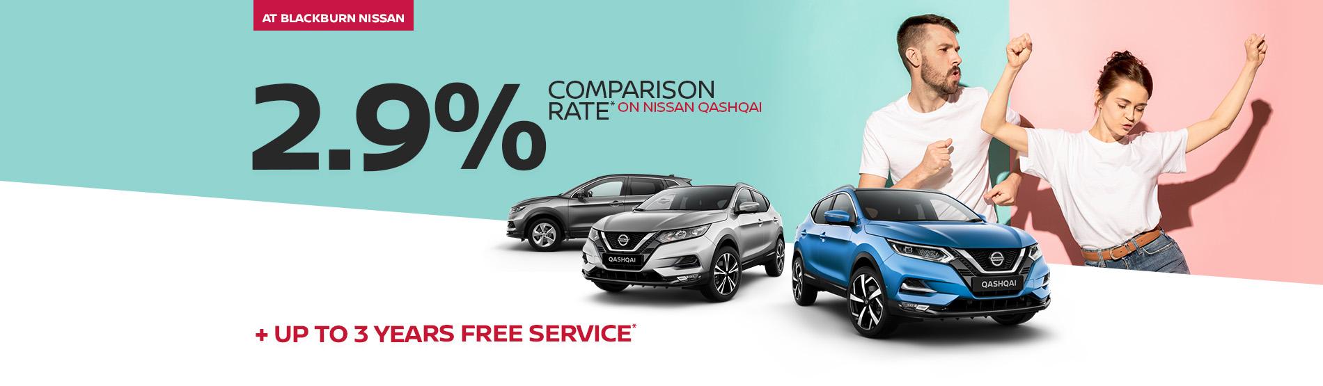 Blackburn Nissan - Qashqai Finance Offer