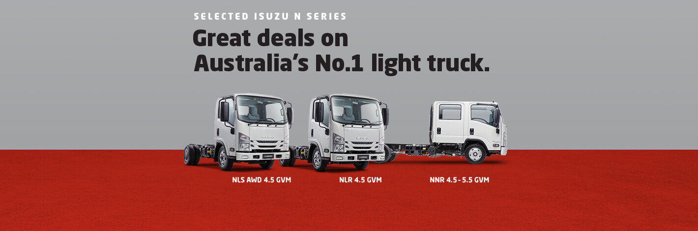 Isuzu Trucks Ready To Work Range