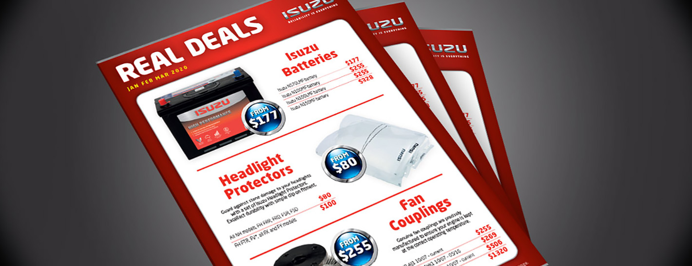 Real Deals Q1 | Isuzu Trucks