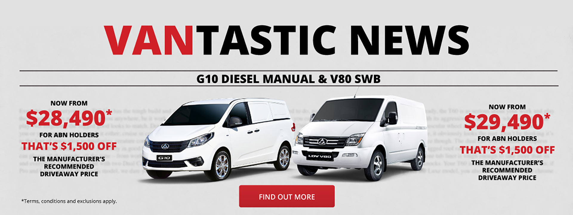 LDV Vantastic News