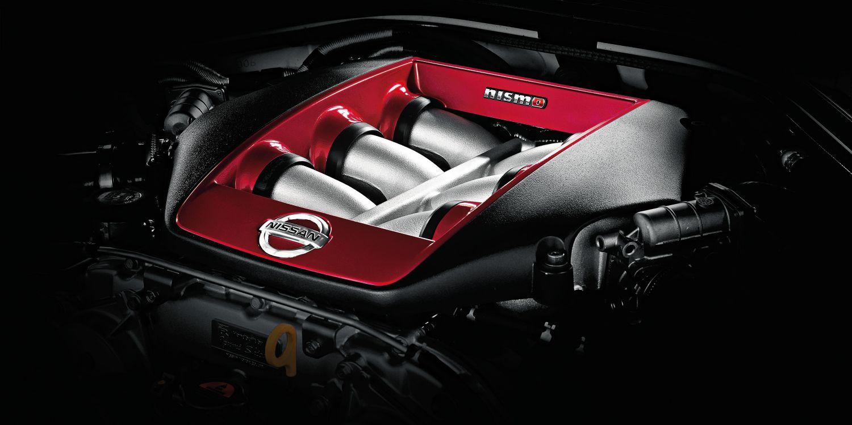 Nissan GT-R Nismo Under The Hood