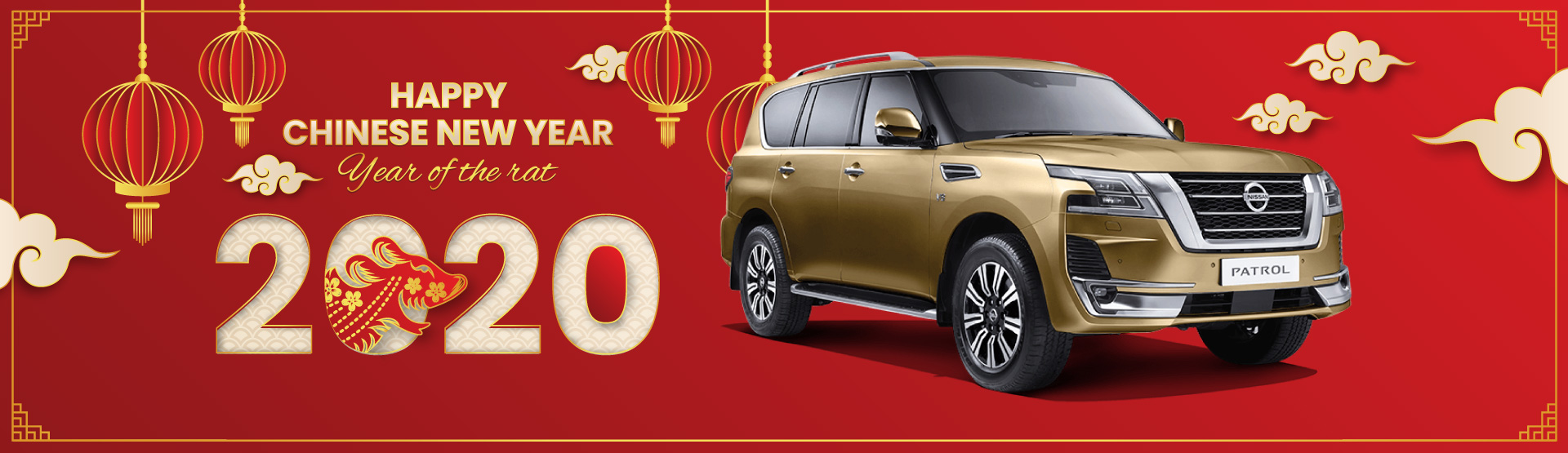 Frankston Nissan Chinese New Year Banner
