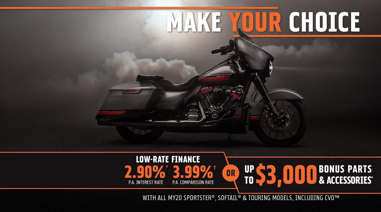 Harley Davidson Make Your Choice