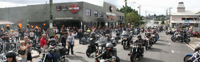 Morgan & Wacker Harley Davidson- HOG