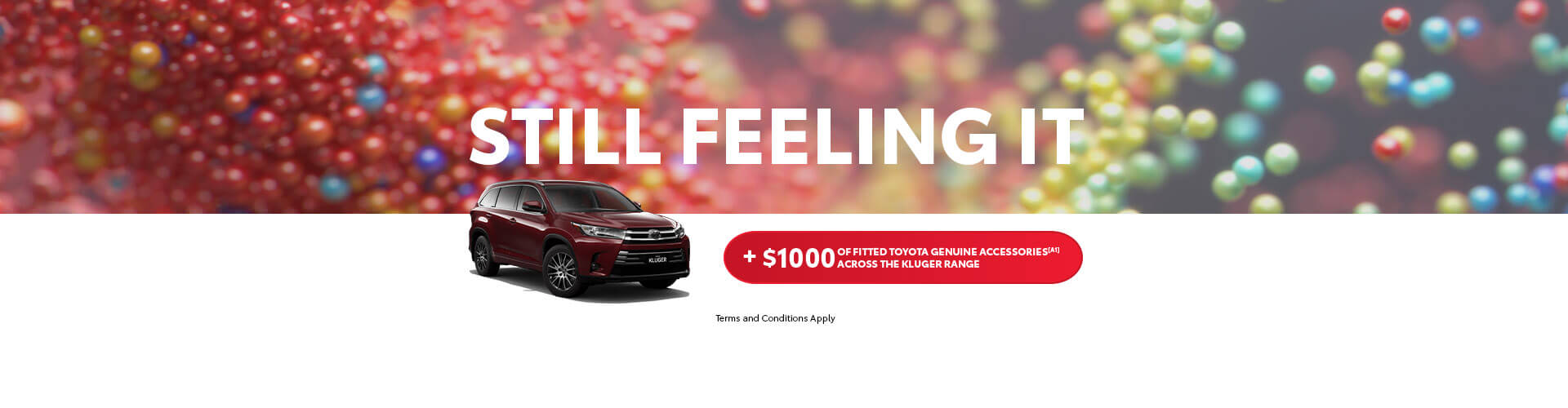 Toyota Kluger Southern Region Offer