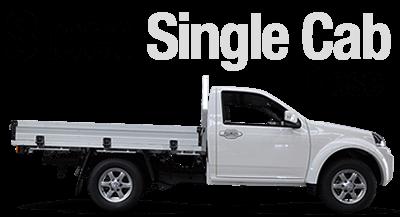 Steed 4x2 / 4x4 Single Cab Diesel