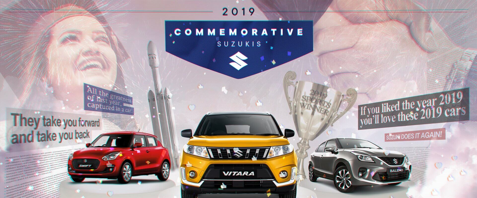 2019 Commemorative Suzuki's