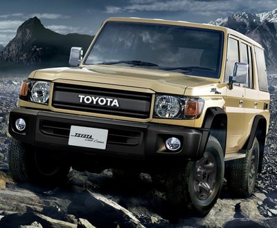 Toyota has unveiled a special-edition LandCruiser 70 Series to celebrate the 70th anniversary of the legendary model (pre-production overseas model shown) image