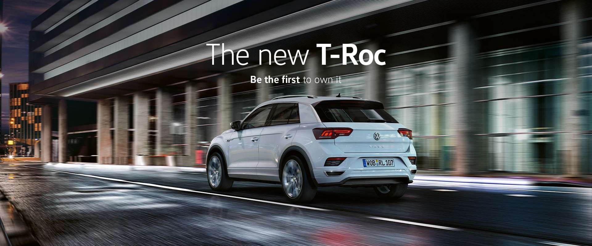 Volkswagen T-Roc | Pre-Order Now