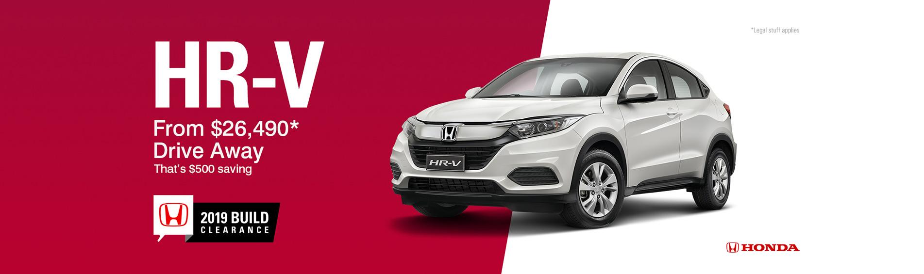 Honda Queensland - HR-V Special